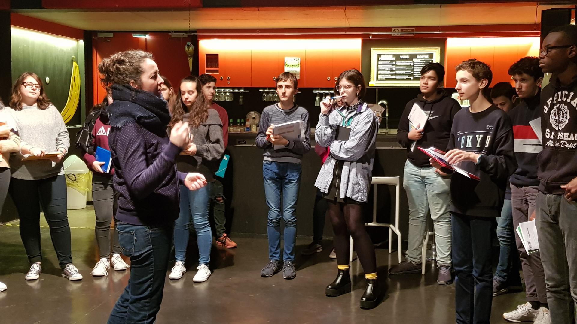 Visite lycée J. Monnet- 15-01-2019- Le Temps Machine