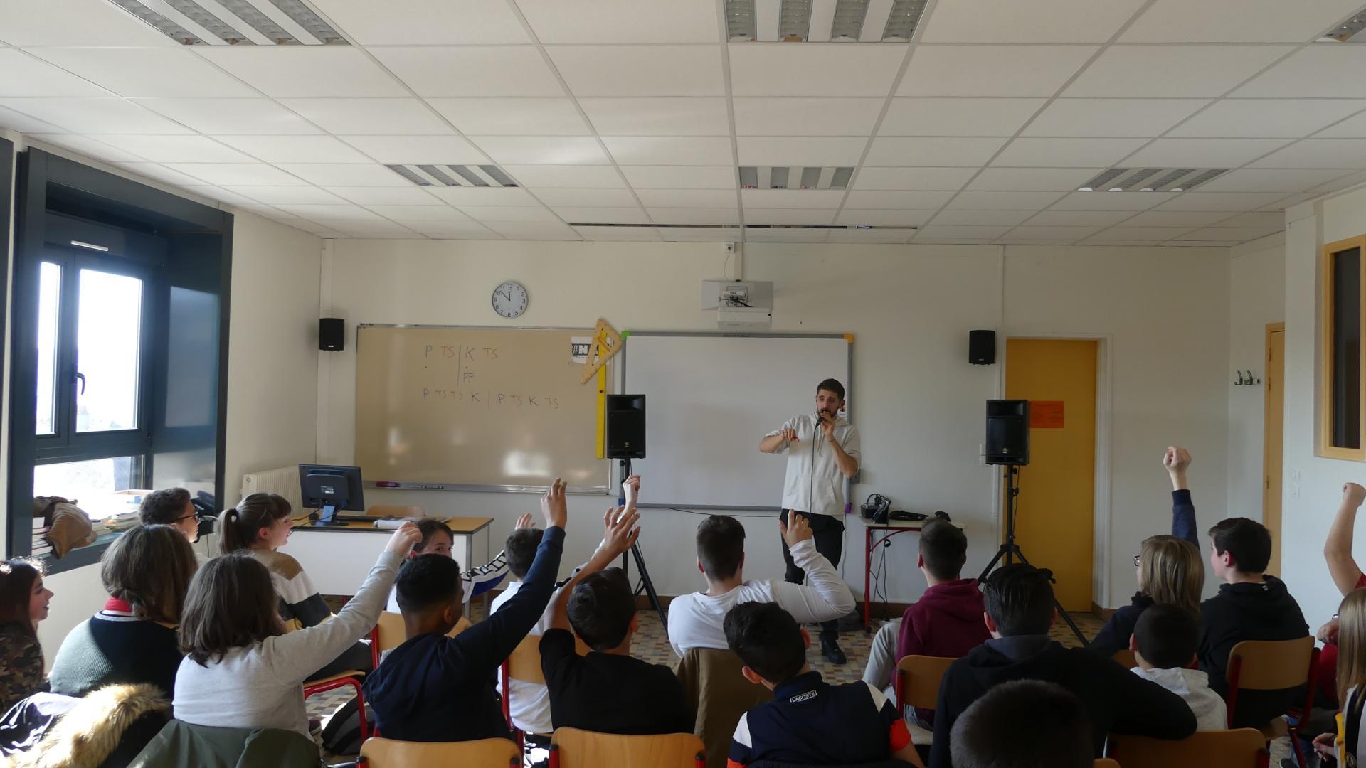 DEPLO - 2019 - Collège Roger Jahan - Le Temps Machine - Petit faucheux - Orphey