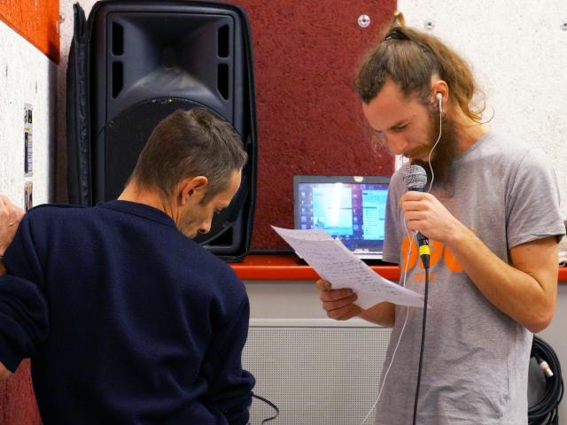 Centre Social du Sanitas Pluriel(le)s - Cesko - Rap - Le Temps Machine - Action culturelle