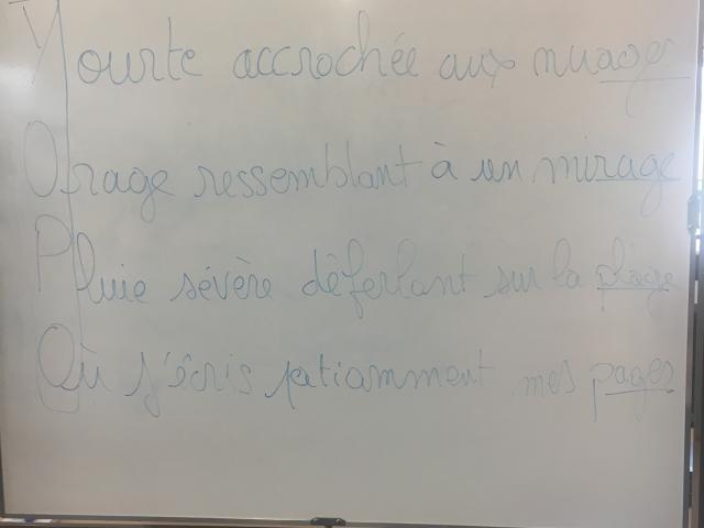 DEPLO - La Meute Slam - Collège Georges Besse - Le Temps Machine - Action culturelle