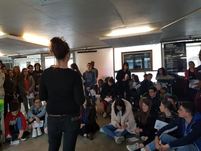 DEPLO - Le Temps Machine - Collège Georges Besse - Loches - 14/03/19