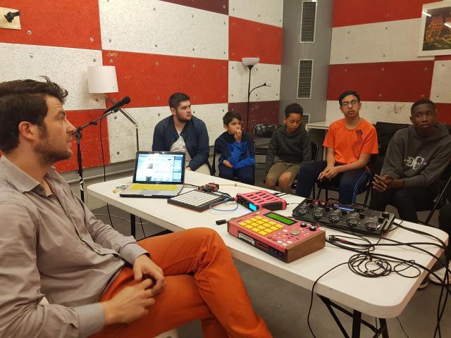 Le Temps Machine - Ville de Tours - Projet Mix 3 - 09-10.04.19 - Beatmaking MPC - Beat Matazz