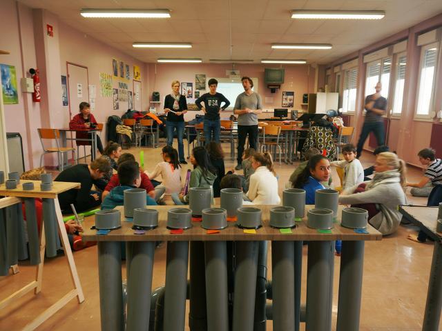 DEPLO - Permis de reconstruire - Collège Pablo Neruda - Le Temps Machine - Action culturelle