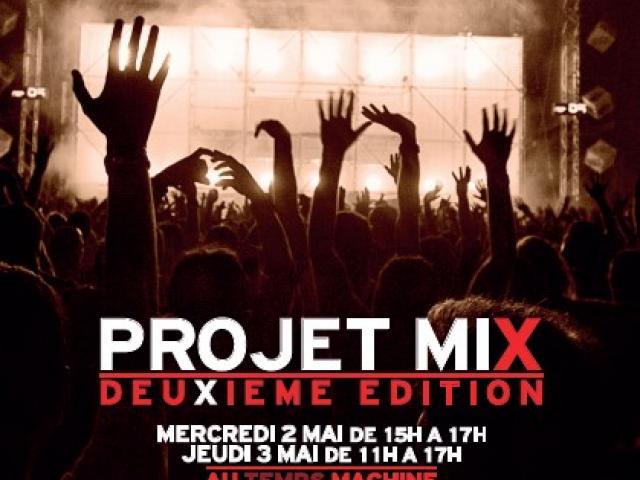 Projet MiX 2 - Tours - Le Temps Machine - Action culturelle