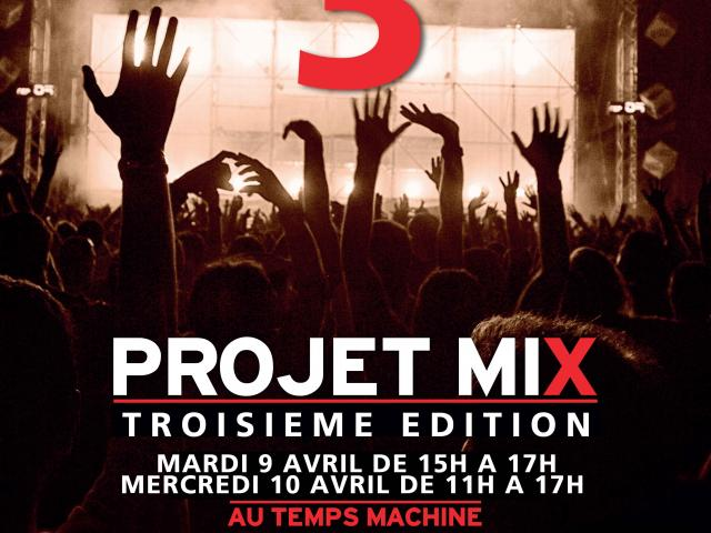 Le Temps Machine - Ville de Tours - Projet Mix 3 - 09-10.04.19