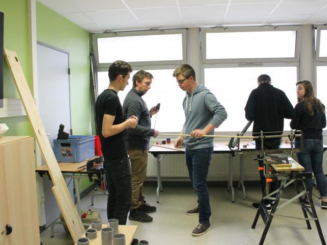 Atelier de construction de rimba tubes avec P. Blavette et J. Boudsocq - Farmer Fest - Le Temps Machine - 30.03.2018